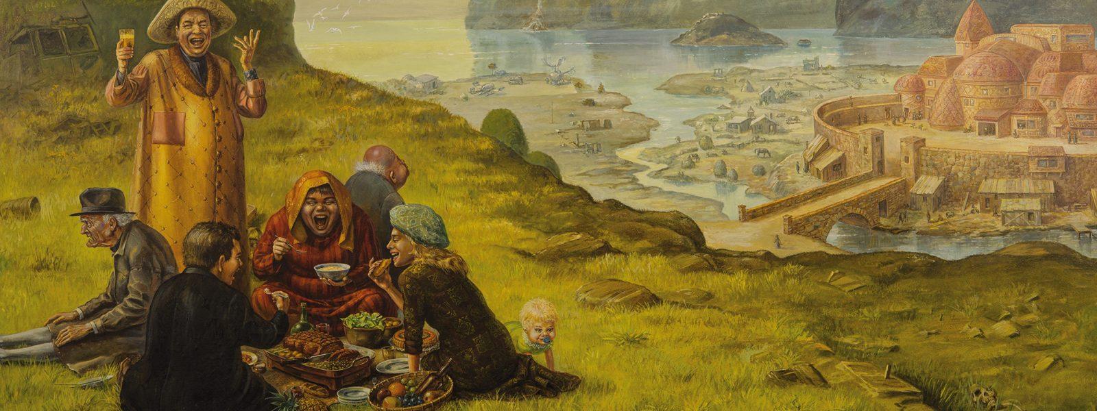 Otto Frello: Frokost i det grønne