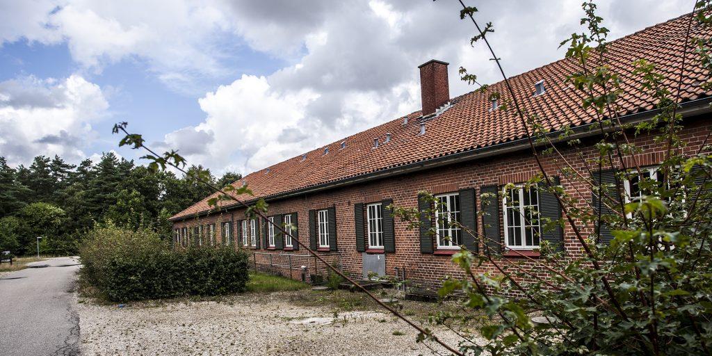 Det gamle lazaret i flygtningelejren