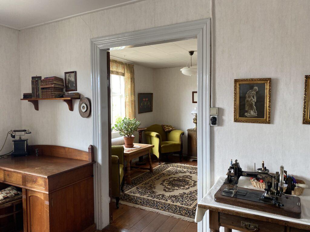 Tømrer Larsen og Annes hus