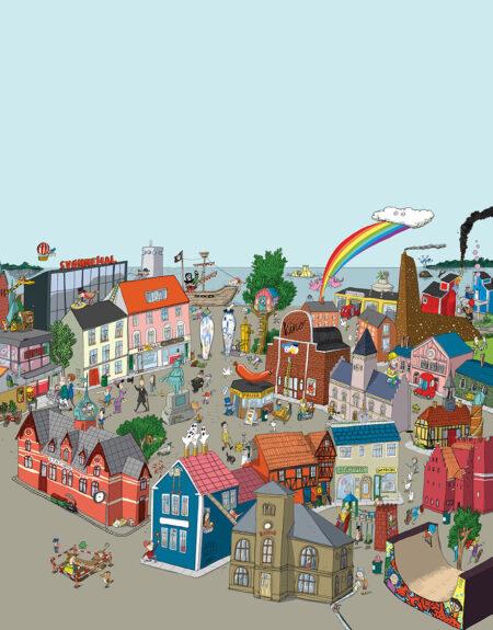 Mig og min by