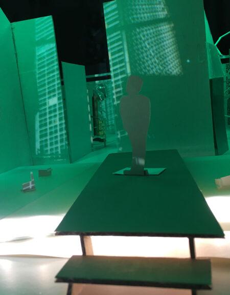 Kim Grønborg udstillingsplakat